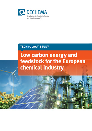 Low carbon energy and feedstock for the European chemical industry