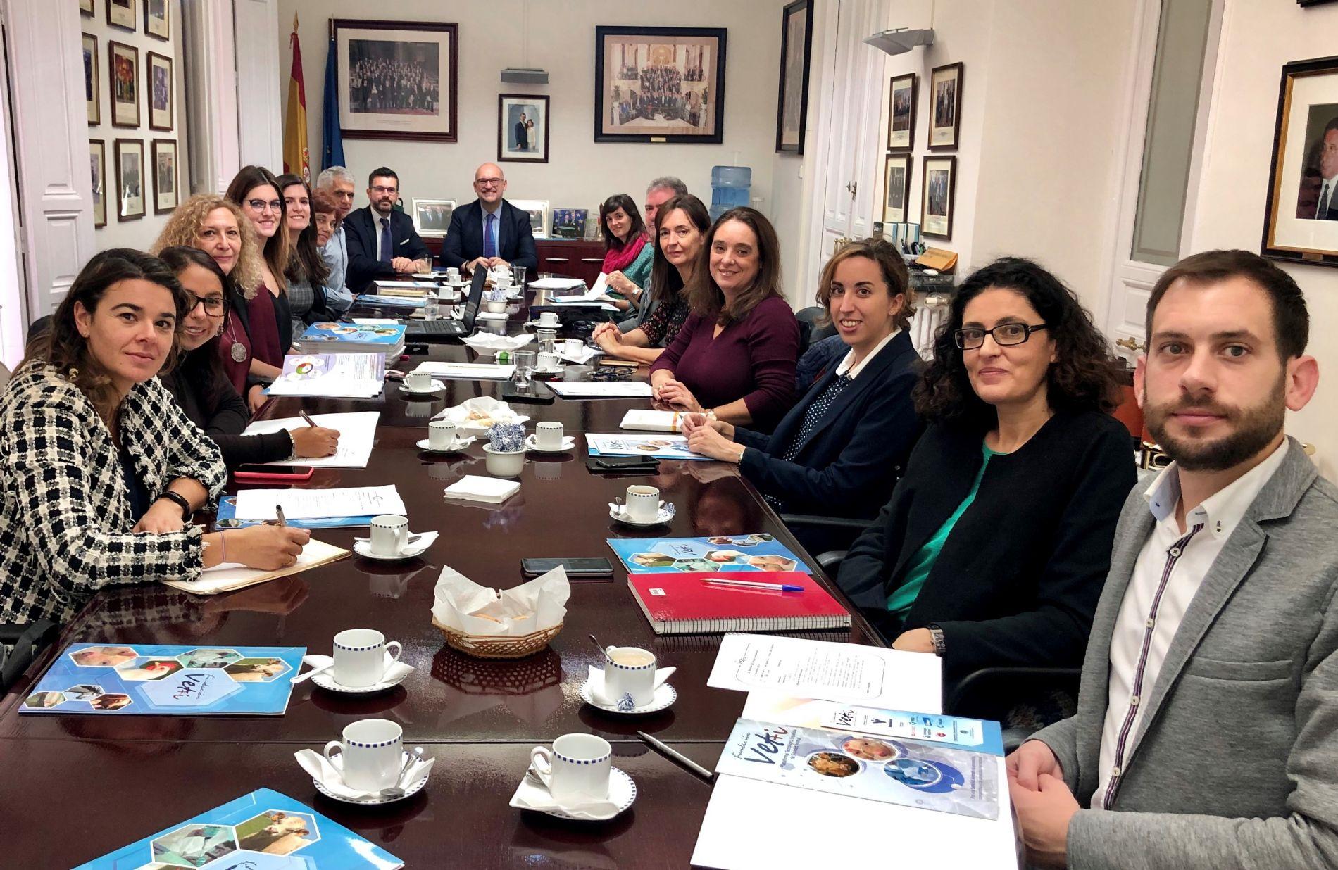 SusChem-España presente en la 9ª Reunión del Grupo Consultivo de Vet+i